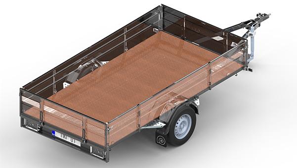 plywood för släpvagn